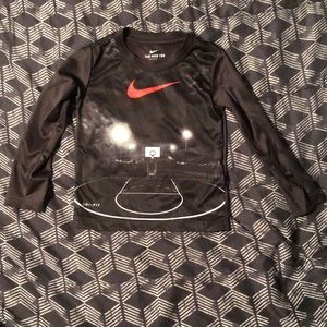 Long sleeve Nike Dri-Fit shirt
